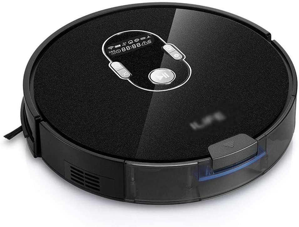 Aspirador robot Limpieza del hogar Robot aspirador de Hoover Oficina ultrafina de vacío inteligente aspiradora robot Cleane (Color: Negro, tamaño: 33 * 33 * 7,6 cm): Amazon.es: Oficina y papelería