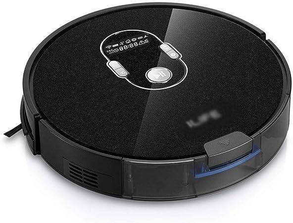 Aspirador robot Limpieza del hogar Robot aspirador de Hoover Oficina ultrafina de vacío inteligente aspiradora robot Cleane (Color: Negro, tamaño: 33 * 33 * 7,6 cm): Amazon.es: Hogar