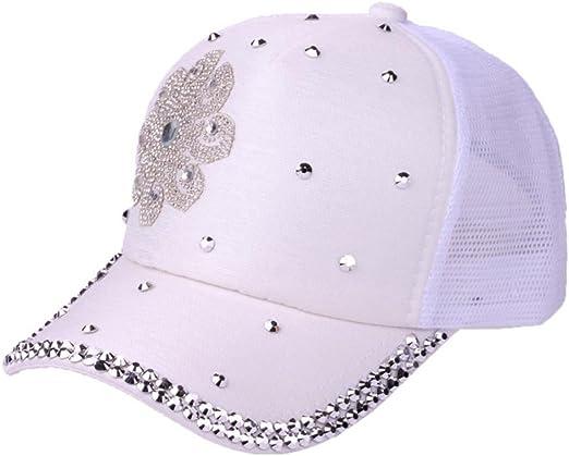 Hosaire 1x Sombreros del Sol Cap para Mujer Gorra de Tenis ...