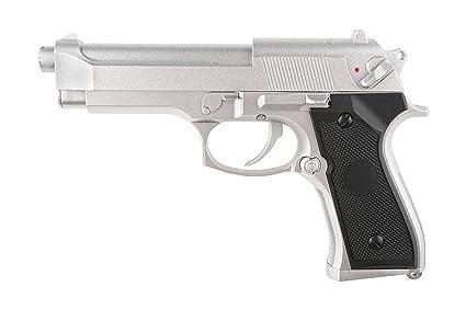 Cyma Pistola de pulverización de Plata Airsoft Aep M92 / M9 ...