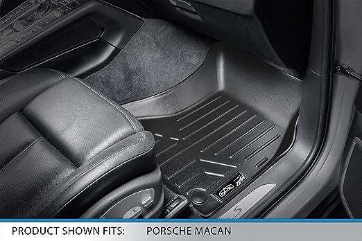 Black 2009-2017 // Porsche Macan First Row Set MAX LINER A0214 MAXFLOORMAT Floor Mats for Audi Q5 2014-2017