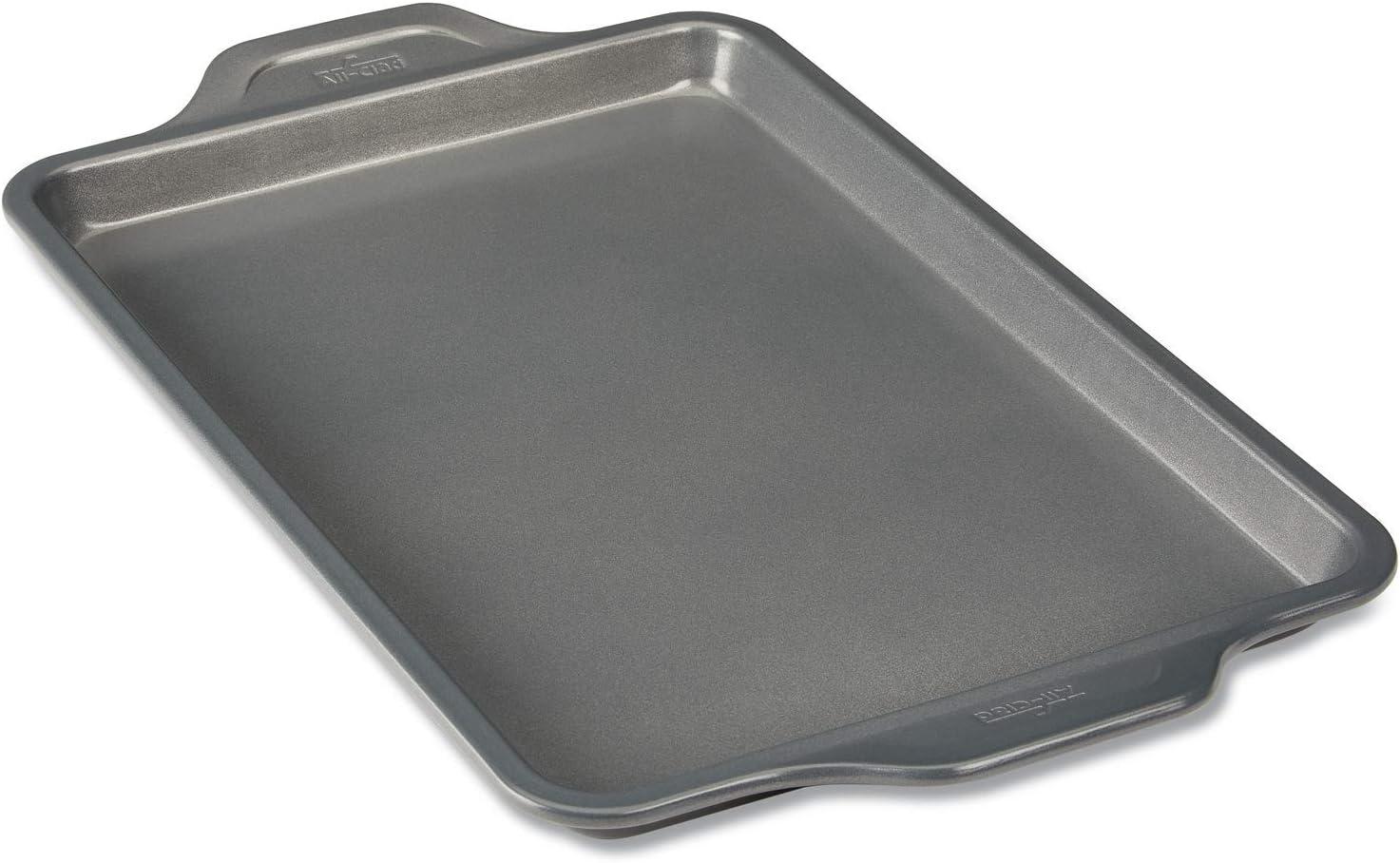 All-Clad J2570464 Pro-Release jelly roll pan, 15 In x 10 In x 1 In, Grey