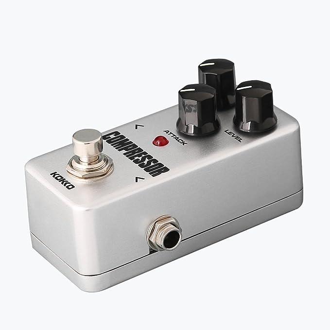 Accesorios Musicales FCP-2 Mini Compresor Efecto con Bypass Real para la Guitarra Eléctrica: Amazon.es: Instrumentos musicales
