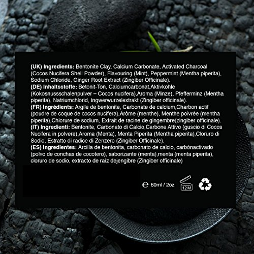 Activated Charcoal Natural Teeth Whitening Powder by Pro Teeth Whitening Co Grey Charcoal (non abrasive and proven safe for enamel) From Coconut Shells | Manufactured in England by Pro Teeth Whitening Co (Image #7)