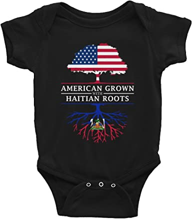 Tenacitee Babys American Grown with Haitian Roots Shirt