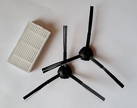 Robot aspirador profesional Master Robot 2712 o Ariete briciola 2711 de 1 par Cepillos y 1