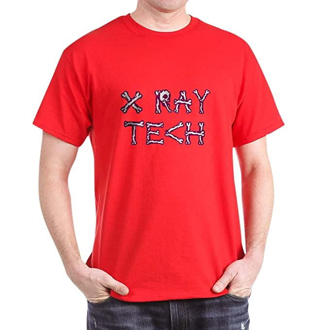 f9fb29ea Image Unavailable. Image not available for. Color: CafePress X-Ray Tech  100% Cotton T-Shirt Red