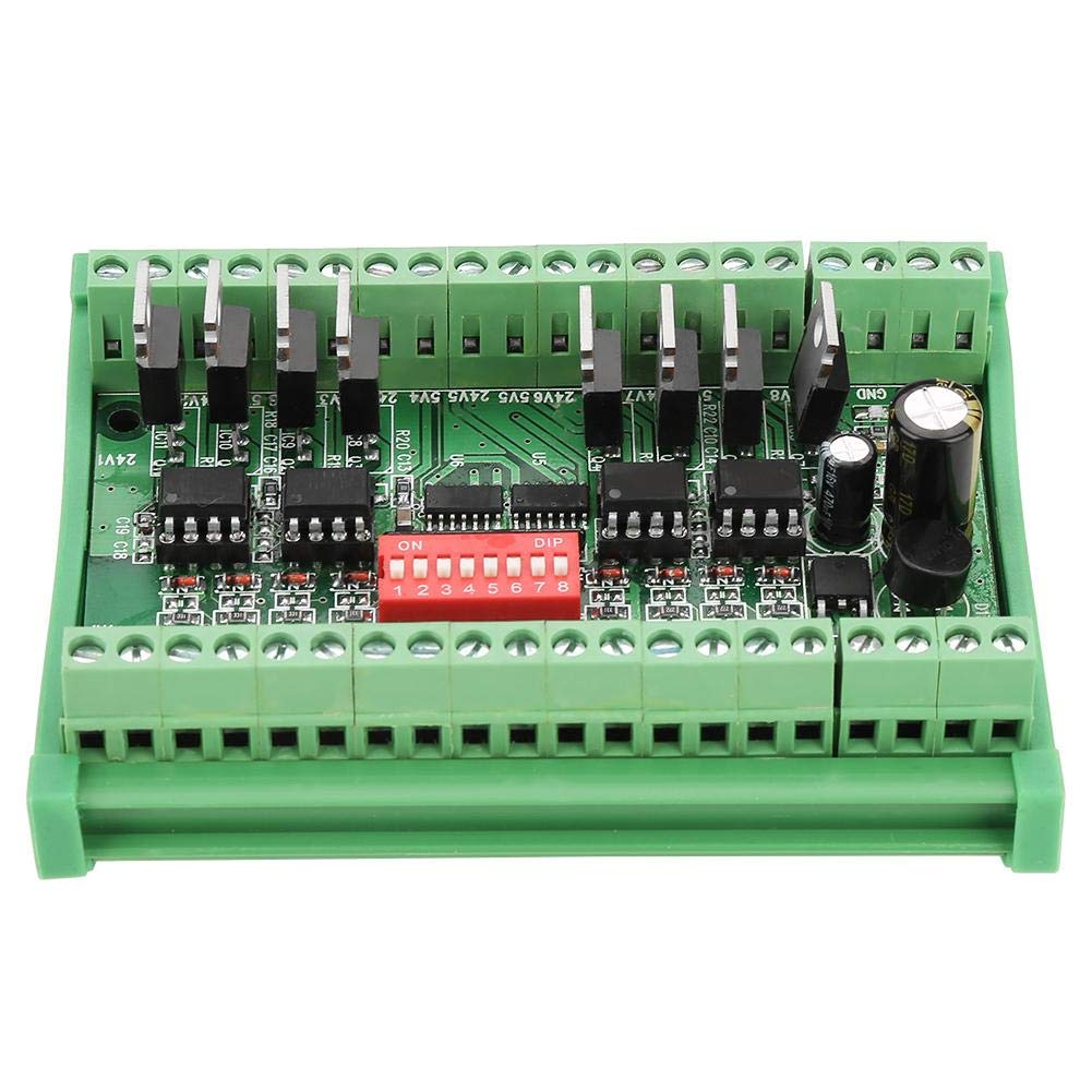 24 V SquareWave Signalwandlermodul 8 Kanal Pegelwandlermodul 10 MHz NPN//PNP zu NPN 5 V