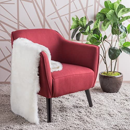 Christopher Knight Home Alphonse Fabric Arm Chair