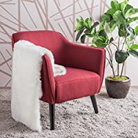 Christopher Knight Home 300036 Alphonse Arm Chair, Deep Red