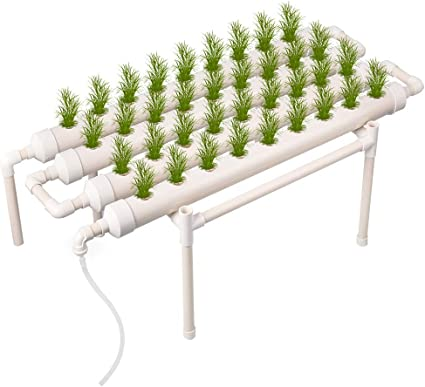 HUKOER Kit de Cultivo hidropónico 36 sitios 4 Tubos Equipo de Cultivo hidropónico Ebb y Flujo Cultivo de Aguas Profundas Balcón Sistema de jardín Vegetales Kit de Cultivo de Herramientas: Amazon.es: Jardín
