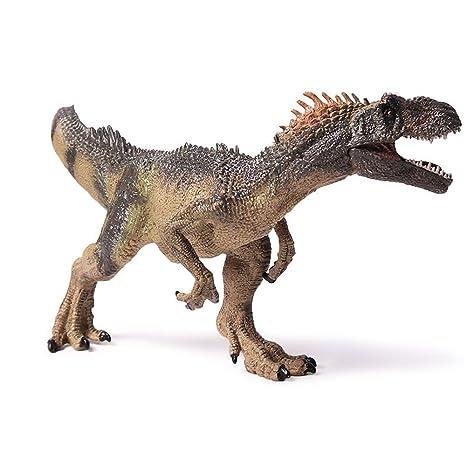 Amazon Com L Silk Allosaurus Dinosaur Figure Toys Realistic Action