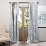 HPD Half Price Drapes BOCH-KC26-96 Blackout Curtain 50″ x 96″ Casablanca Teal For Sale