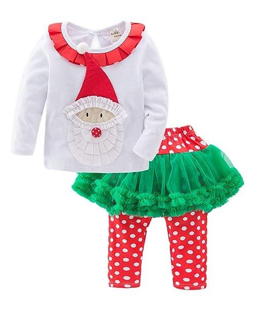 Keephen Hellomiko Navidad Niñas Otoño Invierno Santa Claus ...