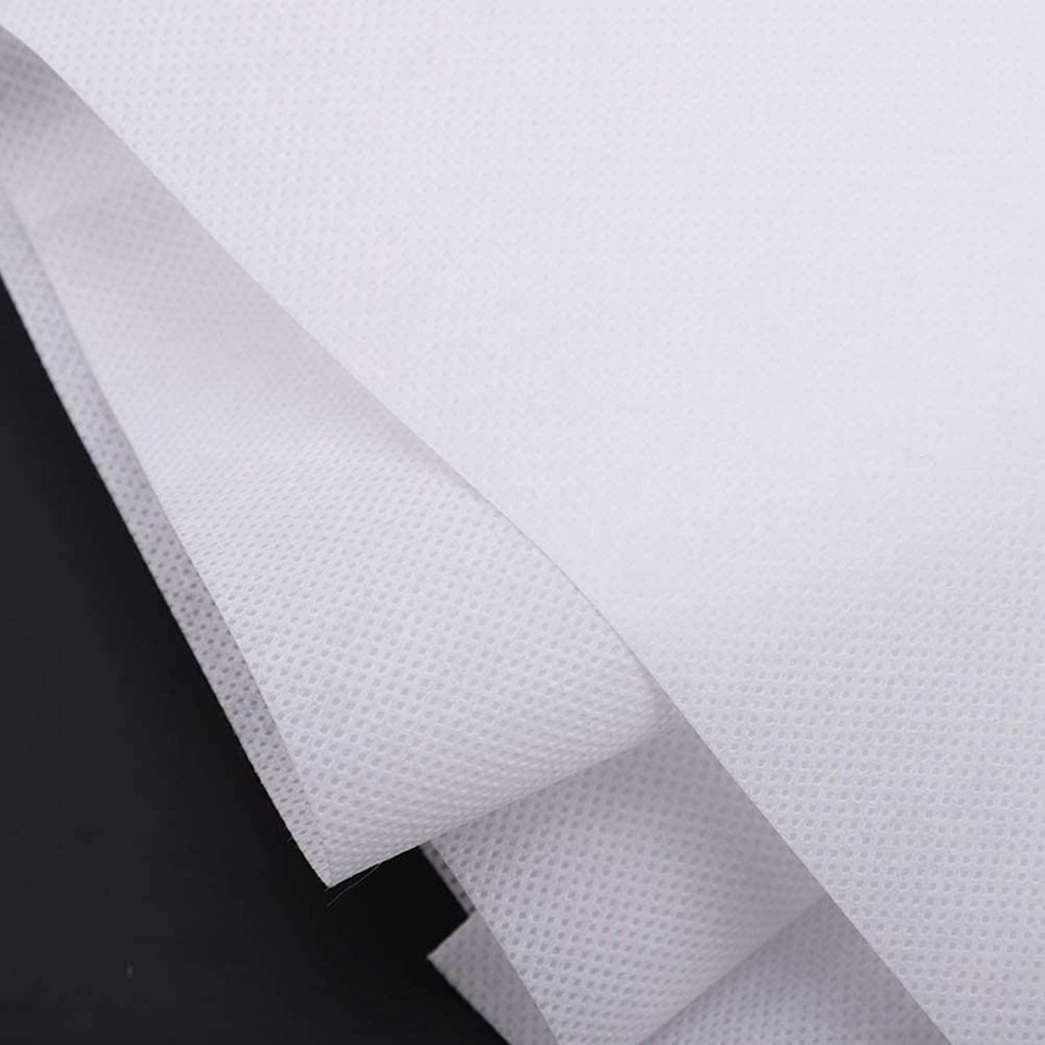 (5m/196.85in) Cloth Disposable Waterproof Non-Woven Fabric, 95% Polypropylene Fabric, Necessities Thickened Disposable Non-Woven Fabric, DIY Handmade Material WFB05001 61MO3UpF6-L