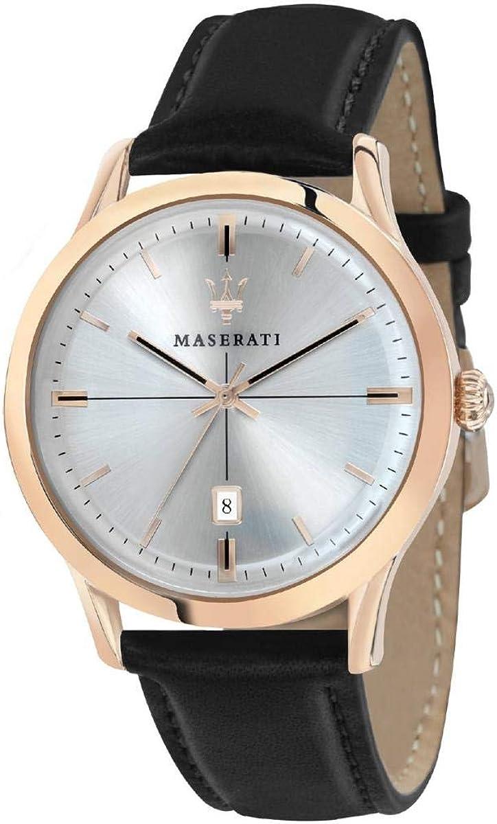 Maserati R8851125005 Black In a popularity Steel L 316 Watch Max 73% OFF Man