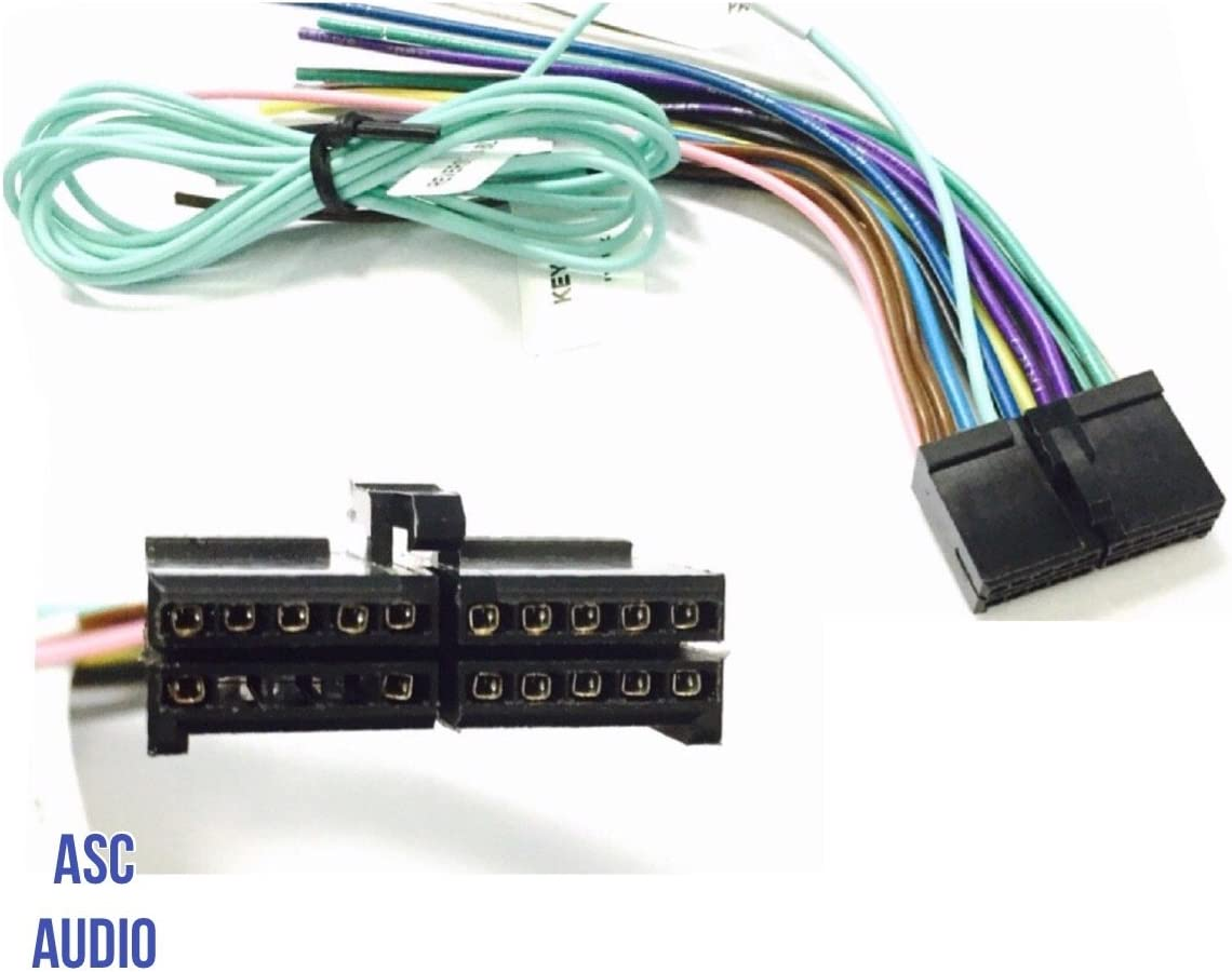 [DIAGRAM_4PO]  Amazon.com: ASC Audio Car Stereo Radio Wire Harness Plug for select Boss 20  Pin Radios DVD Nav- BV9973 BV9978 BV9979B BV9980BT and more...: Automotive | Boss Dvd Wiring Diagram |  | Amazon.com