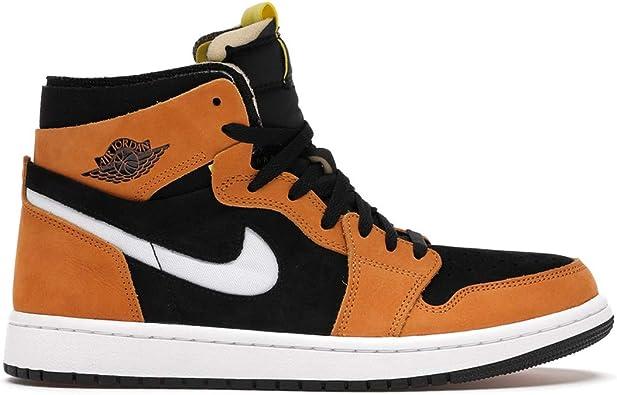 Amazon.com | Nike Men's Shoes Jordan 1 High Zoom Air CMFT Black ...