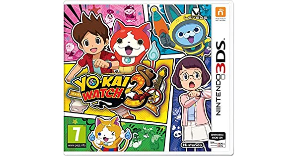 Nintendo Yo-Kai Watch 3, 3DS vídeo - Juego [Importación italiana]: Amazon.es: Videojuegos