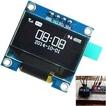 """5PCS White 0.96/"""" I2C IIC Serial 128X64 OLED LCD LED Display Module //Arduino"""