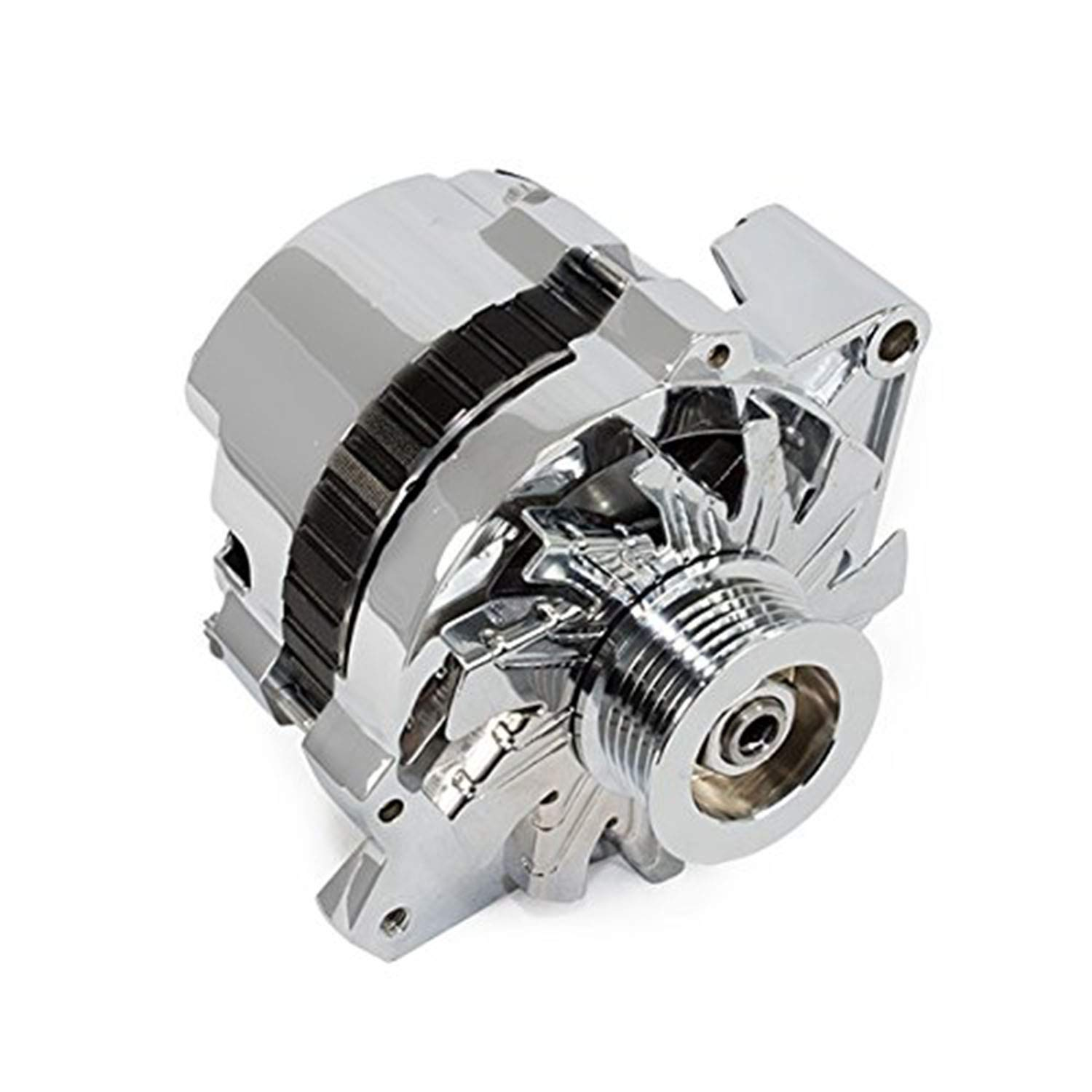 A-Team Performance GM CS130 Style 160 Amp Alternator with Serpentine Pulley