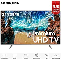 Samsung UN82NU8000 82' Class NU8000 Premium Smart 4K Ultra HD TV (2018) (UN82NU8000FXZA) with 1 Year Extended Warranty UN82NU8000 82NU8000