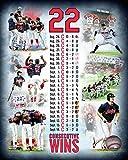 "Cleveland Indians 2017 22 Consecutive Wins Composite Photo (Size: 8"" x 10"")"