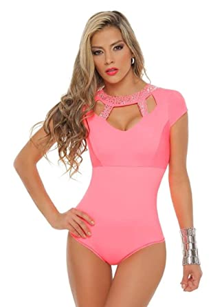 35fe44e064404 Moda Colombiana Women s Body Shaper Blouse Blusa Fajas Colombianas Ab  Control Ref 6148 ONE SIZE (
