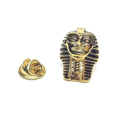 Gemelolandia Pin de Solapa Máscara de Tutankamon Faraón de Oro