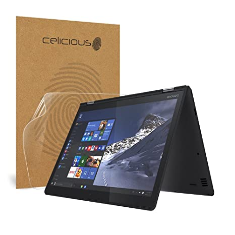 Celicious Impact Anti-Shock Shatterproof Screen Protector Film Compatible with Lenovo Yoga 510 (14 inch)