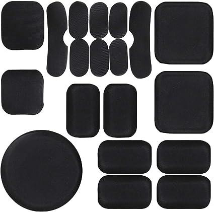 Universal Helmet Padding Replacement Helmet Accessory Foam Pad Set Kit for Fast