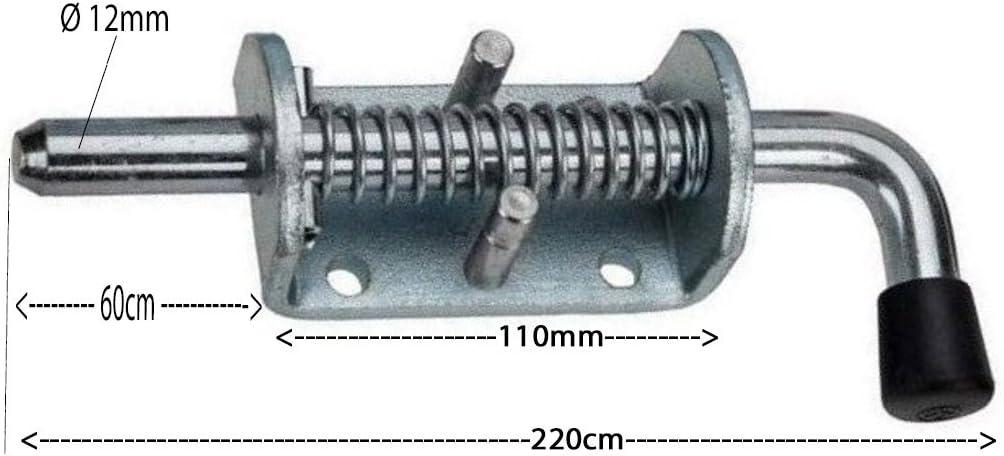 M83-150mm M83 Torriegel Federriegel Bodenschieber Tor Feststeller T/ürriegel Bodenriegel