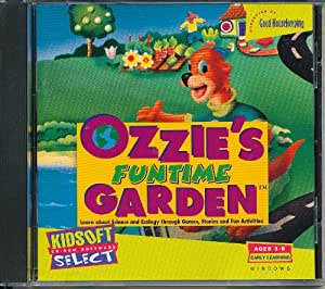 Amazon.com: Ozzie's Funtime Garden: Learn About Science