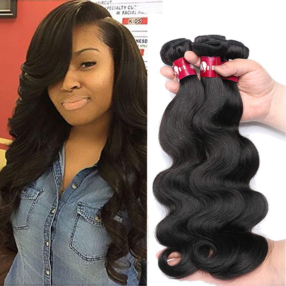 Amazon Hebe Peruvian Hair 3 Bundles 12 14 16 100 Human Hair
