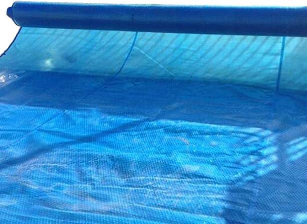 Lona- Cubierta de Piscina Grande Azul, Mantas solares de Piscina Gruesa de PE for Piscinas de jardín al Aire Libre (Color : Blue, Size : 5×3m): Amazon.es: Hogar