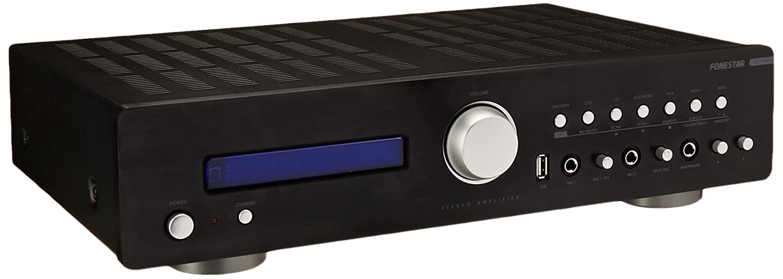Fonestar AS-170RU - Amplificador Hi-Fi USB/MP3/AM/FM: Amazon.es ...