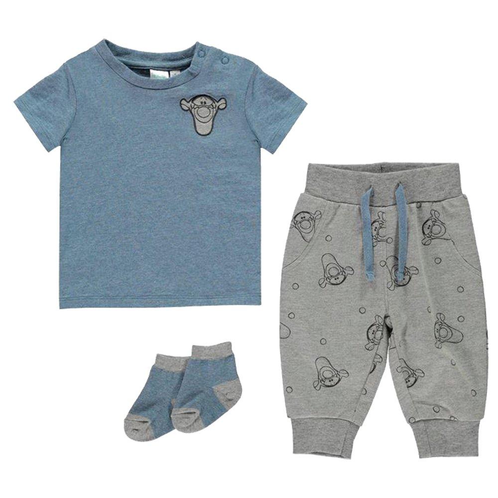 Character , Disney 3 Piece Baby Boys Stylish Jogger Set T Shirt Bottoms Socks