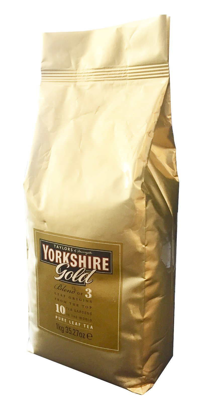 Taylors of Harrogate Yorkshire Gold Loose Leaf Tea, Kilo Bag, 35.27 Ounce (Pack of 1) by Yorkshire Tea