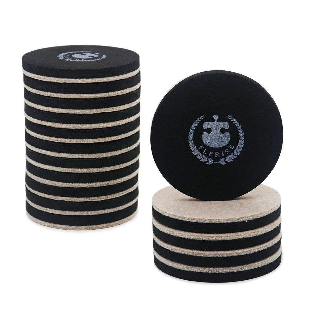 16 Pack Furniture Sliders Carpet Reusable Tube, Furniture Mover, Reusable Pads, Furniture Slider - 3.5 inch Width Furniture Moving Pads for Carpet