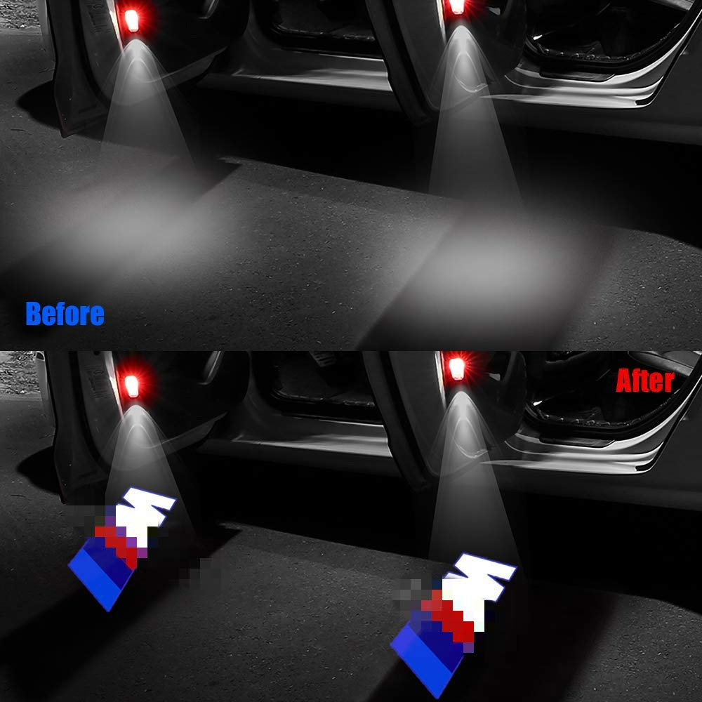 TELEGUE 4 Pack Projektor Willkommen Logo Licht fit stylle1 Autot/ür Leuchten E90 E60 X5 E70 E87 F20 E92 E91 E61 F11 F18 E63 E64 F12 E65 X3 X6 GT 3 5 6 7 X GT
