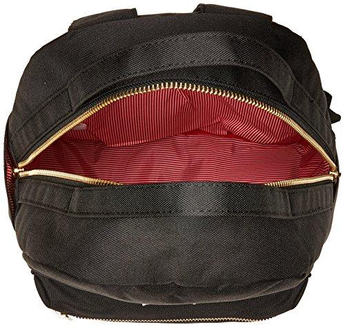 61MOD6T0FPL - Herschel Nova Mid-Volume Backpack, Black, One Size