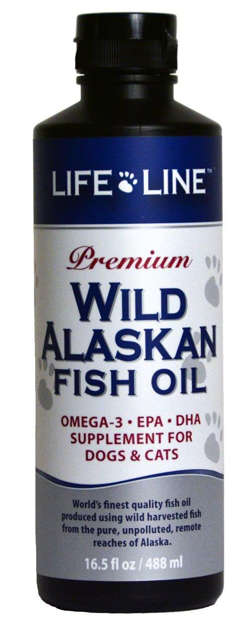 Life Line Wild Alaskan Fish Oil, 16.5-Ounce