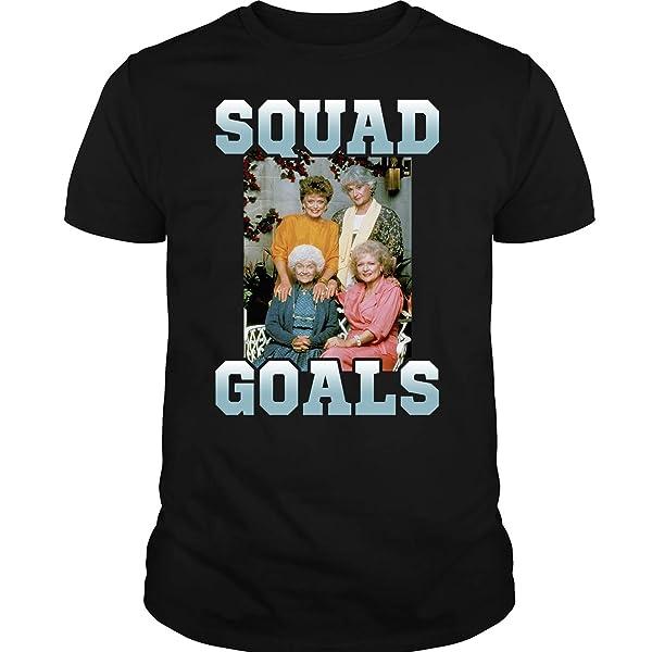 Squad Goals Four Golden Girls T-shirt, The Golden Girls Shirt