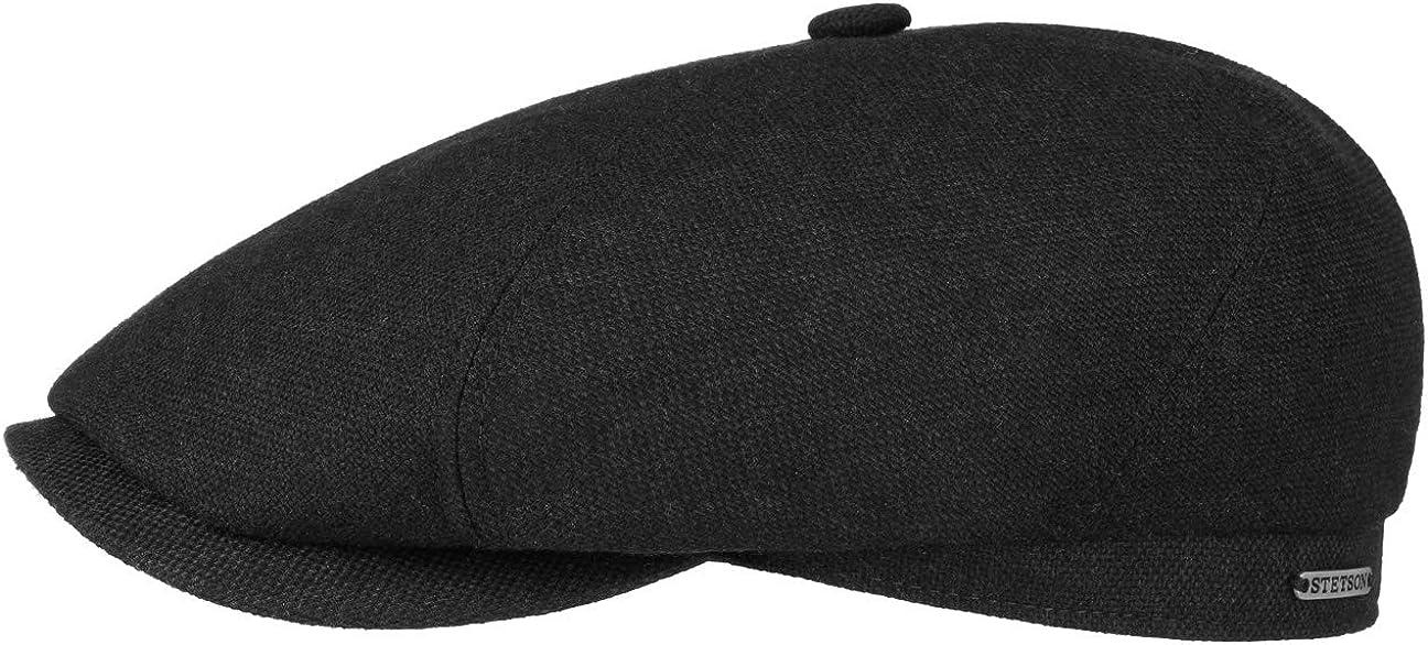 - Wollcap mit Baumwollinnenfuter Stetson Belfast Wool Blend Flatcap Herren Schirml/änge 5 cm Made in The EU Schieberm/ütze mit Schurwolle /& Kaschmir Schirmm/ütze Herbst//Winter