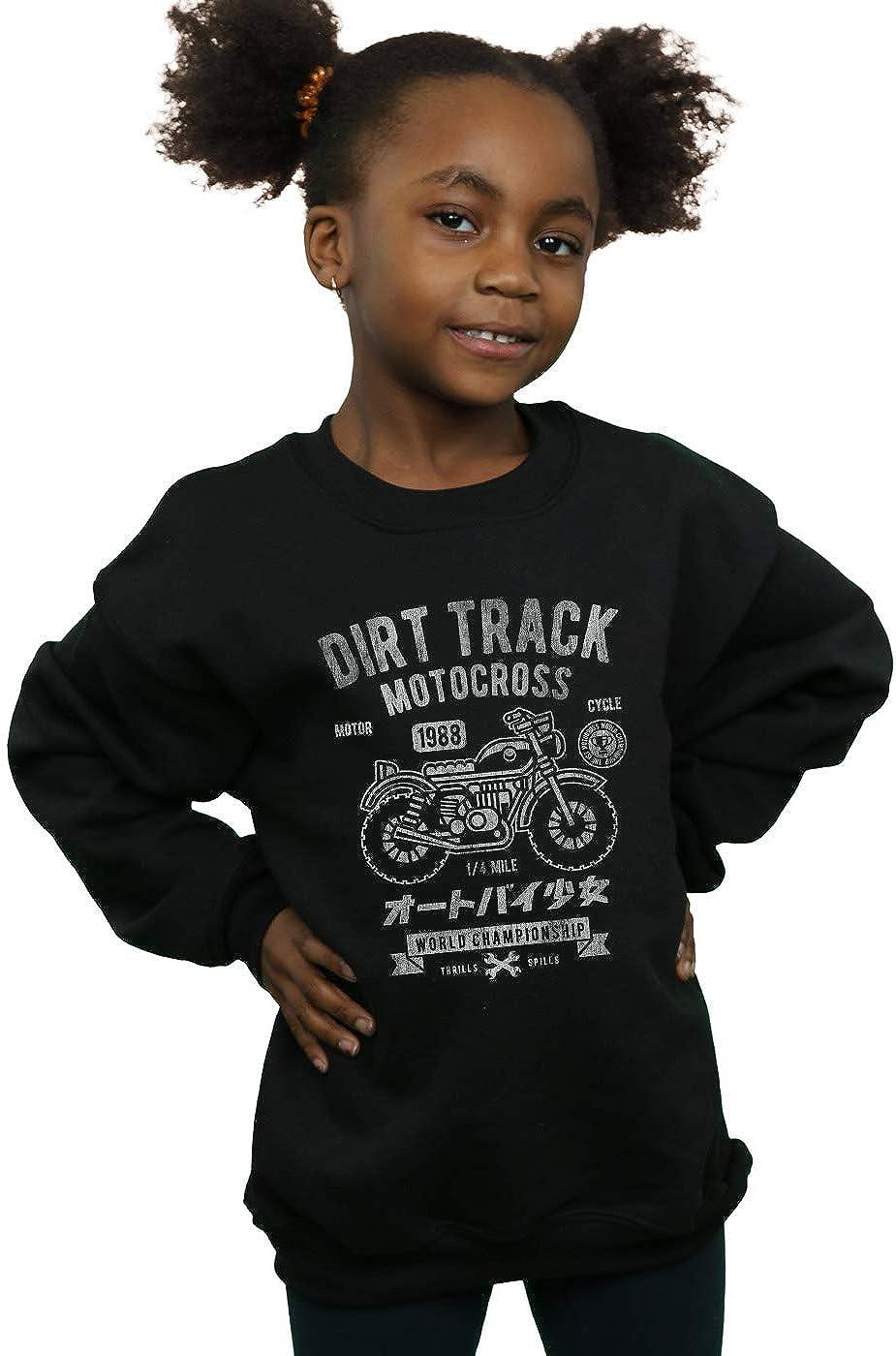 Absolute Cult Drewbacca Girls Dirt Track Motocross Sweatshirt