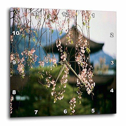3dRose dpp_59766_2 Japanese Cherry Blossom Time-Wall Clock, 13 by (Blossom Clock)