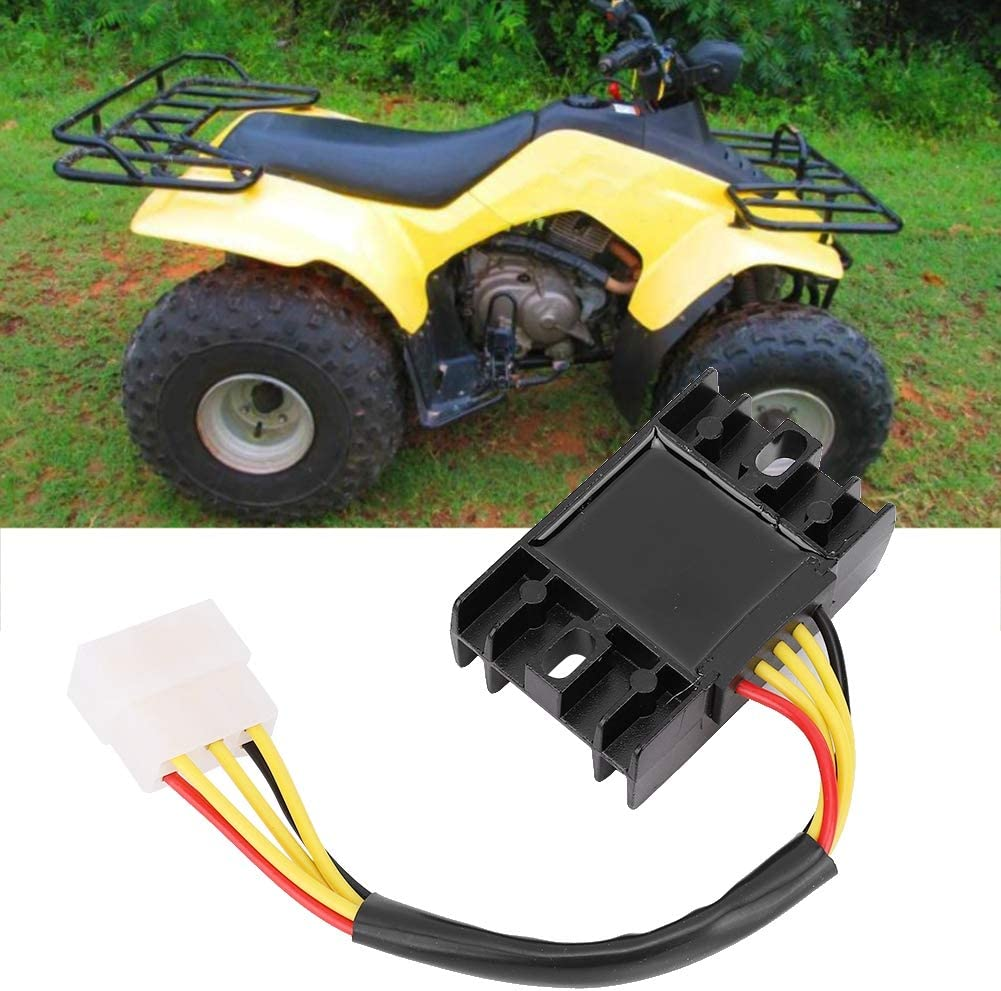Terisass Rectifier 32800-19B11 Motorcycle Voltage Regulator Rectifier Motorcycle Parts Electrical Components Fit for Suzuki Quadrunner King Quad 160 250 280 300 1999 2000 2001