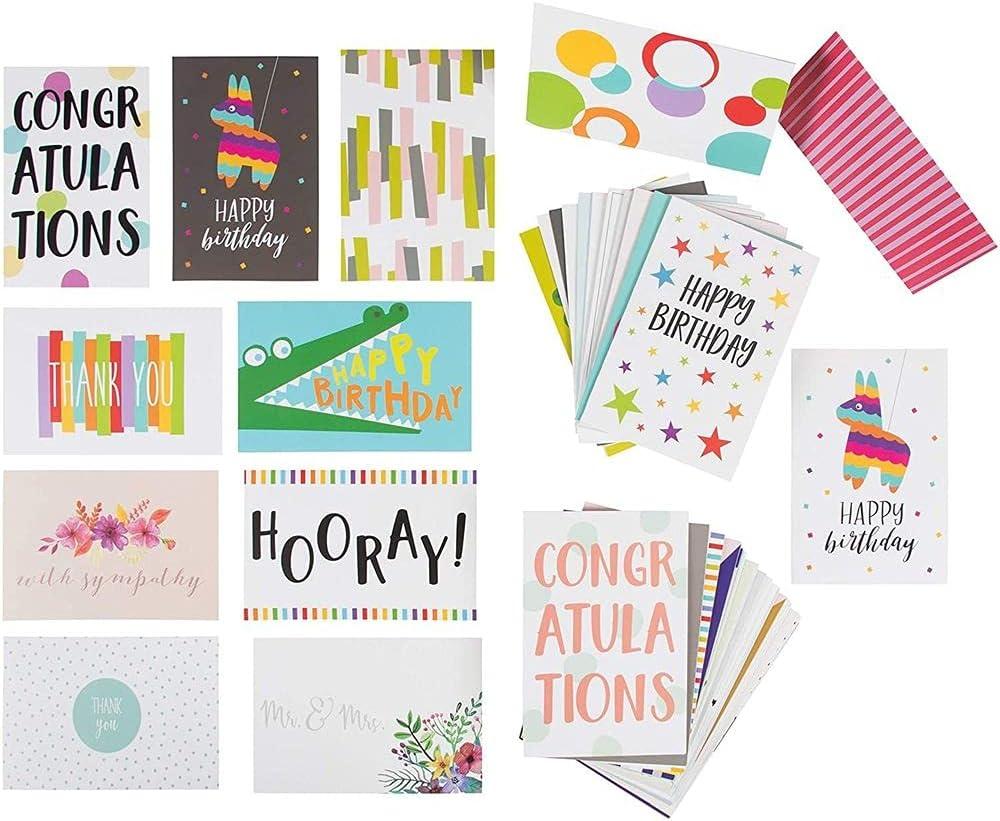 Set of 5 Blank NotecardsThank You CardsJust Because CardsThinking of CardsEnvelopes