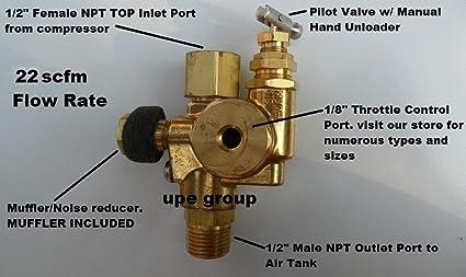 Amazon.com: Compresor de aire válvula de retención Pilot ...