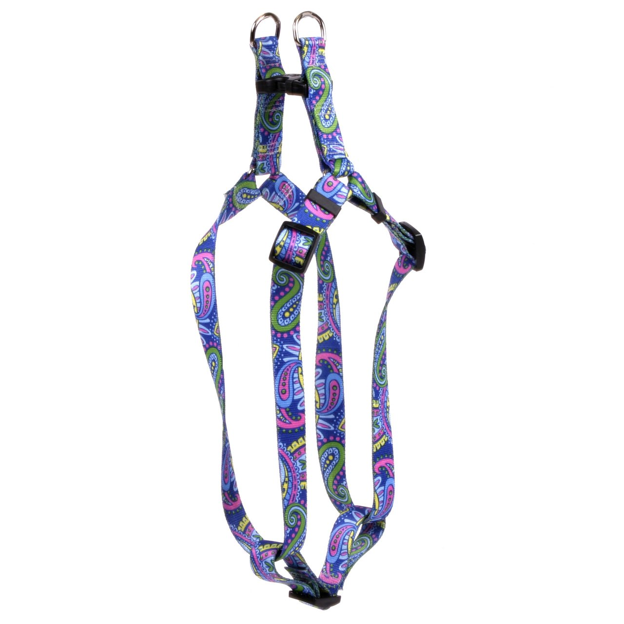 Yellow Dog Design Standard Step-in Harness, Paisley Power, Extra Small 4.5'' - 9''